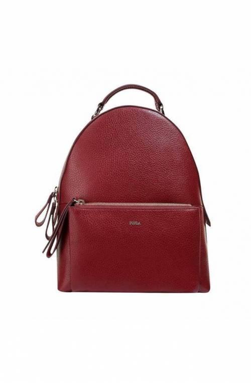 FURLA Backpack NOA Female Leather Cherry - 1043171