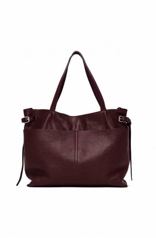 GIANNI CHIARINI Tasche FUTURA Damen Leder Bordeaux - 7365OLX10623