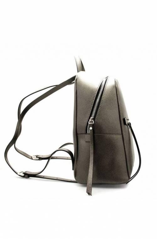 GIANNI CHIARINI Backpack FREDDY Female Leather Anthracite - 923019AIFRZ0217