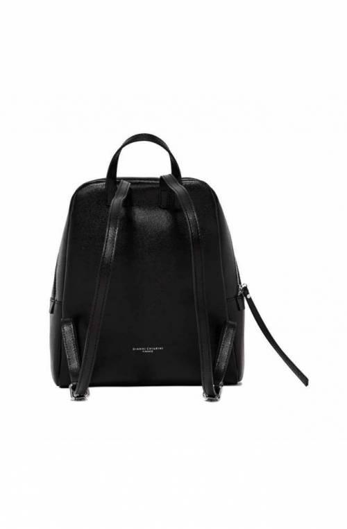 GIANNI CHIARINI Backpack FREDDY Female Leather Black - 923019AIFRZ001