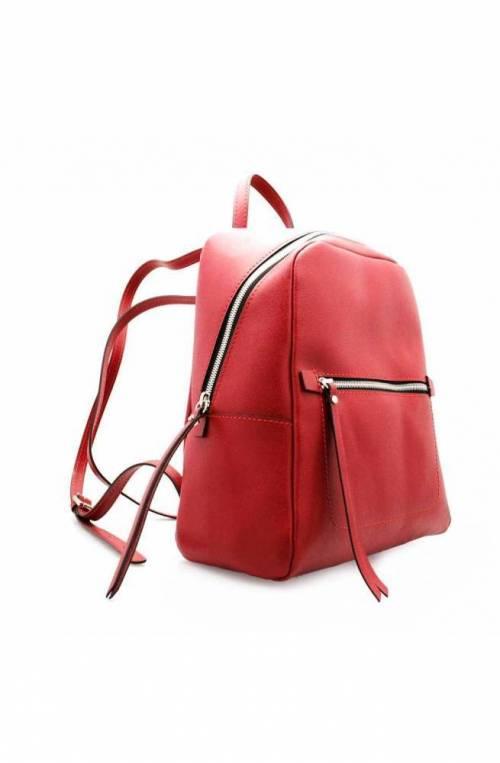 GIANNI CHIARINI Backpack FREDDY Female Leather Red - 923019AIFRZ9641