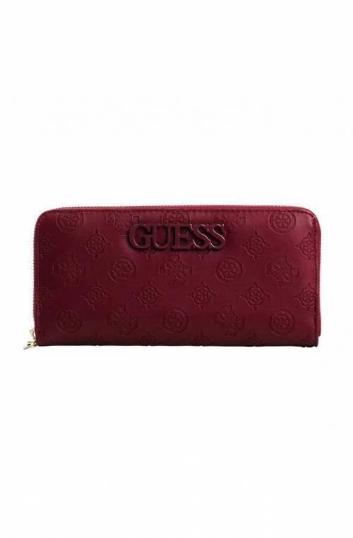 GUESS Wallet JANELLE Female Merlot - SWSP7433460MER