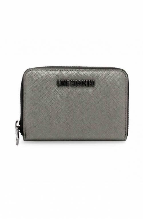 LOVE MOSCHINO Wallet Female Gunmetal - JC5558PP06LQ0906
