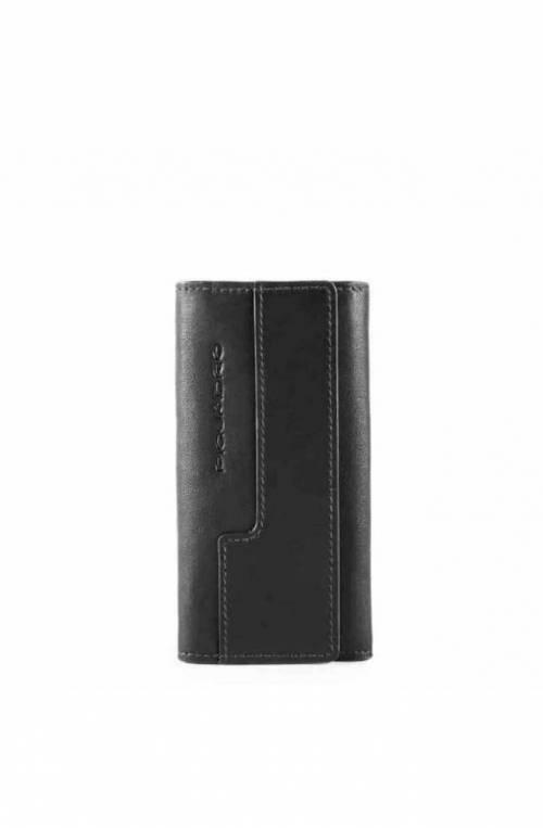 Portachiavi PIQUADRO Nero Pelle Unisex - PC4521W95-N