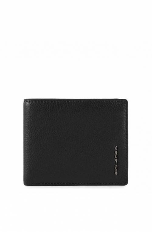 PIQUADRO Wallet MODUS Restyling Leather Black - PU3891MOSR-N