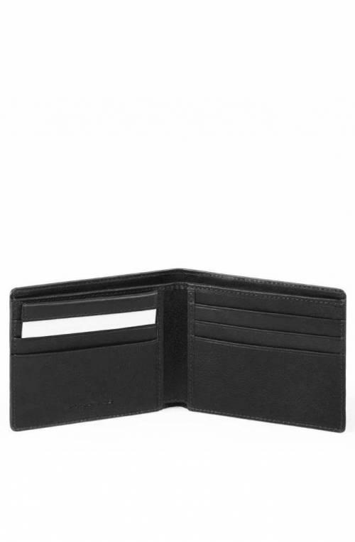 PIQUADRO Wallet Male Leather Black - PU3891W95R-N