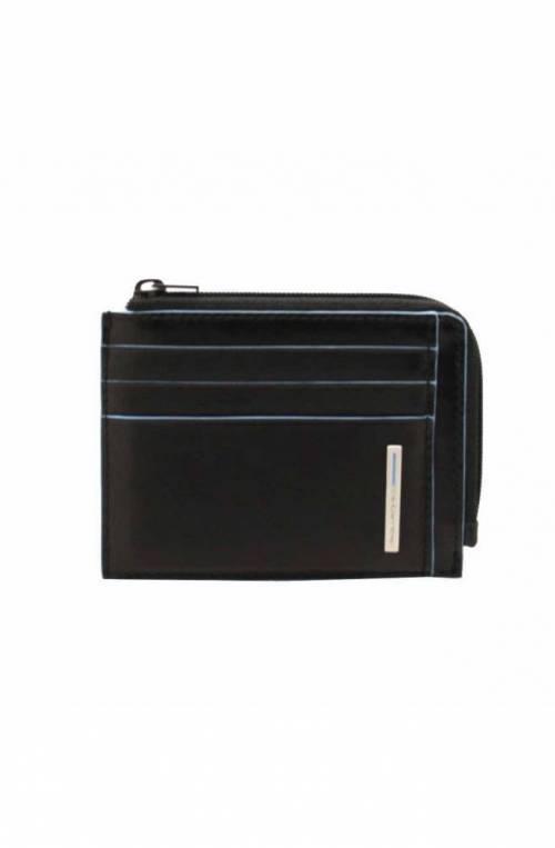 Portafoglio PIQUADRO Uomo Pelle Nero protezione anti-frode RFID - PP4822B2R-N