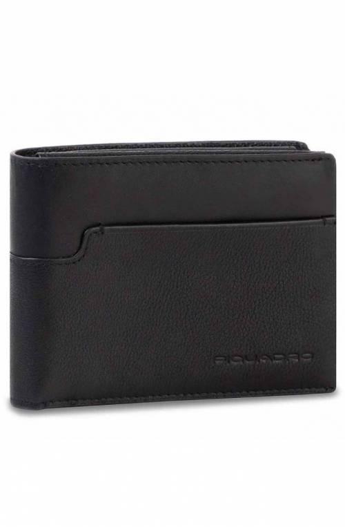 PIQUADRO Wallet Wostok Male Black - PU1392W95R-N