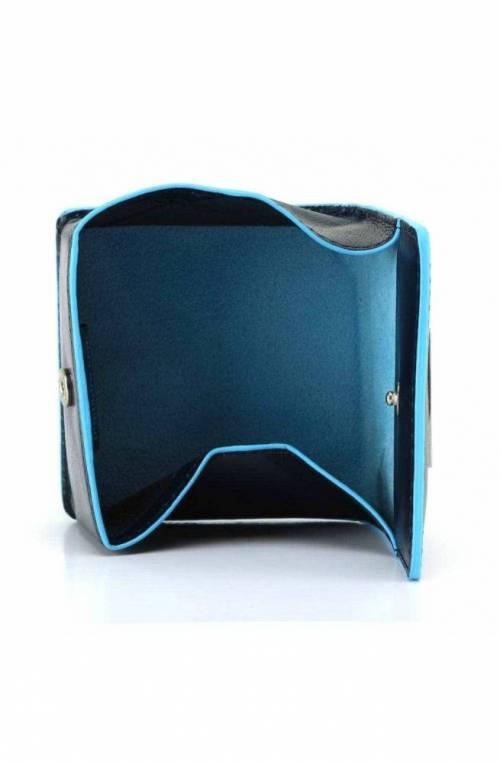 Portamonete PIQUADRO BLUE SQUARE Unisex Pelle Blu - PU2634B2-BLU2
