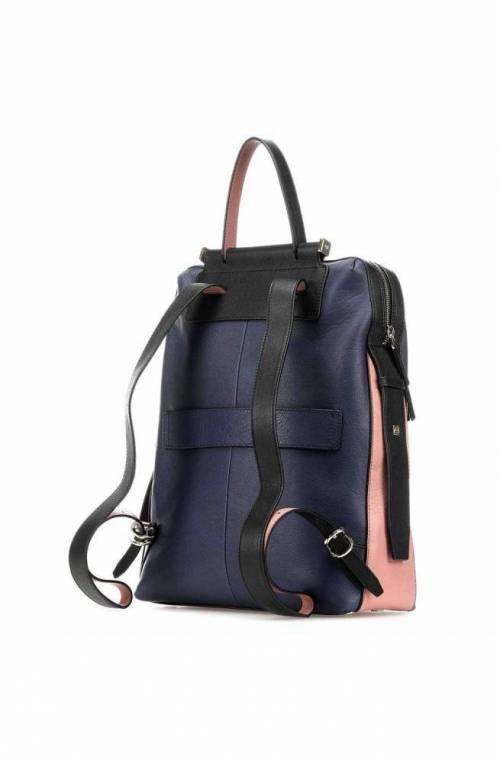 PIQUADRO Backpack Circle Unisex Leather Blue - CA4576W92-BLU