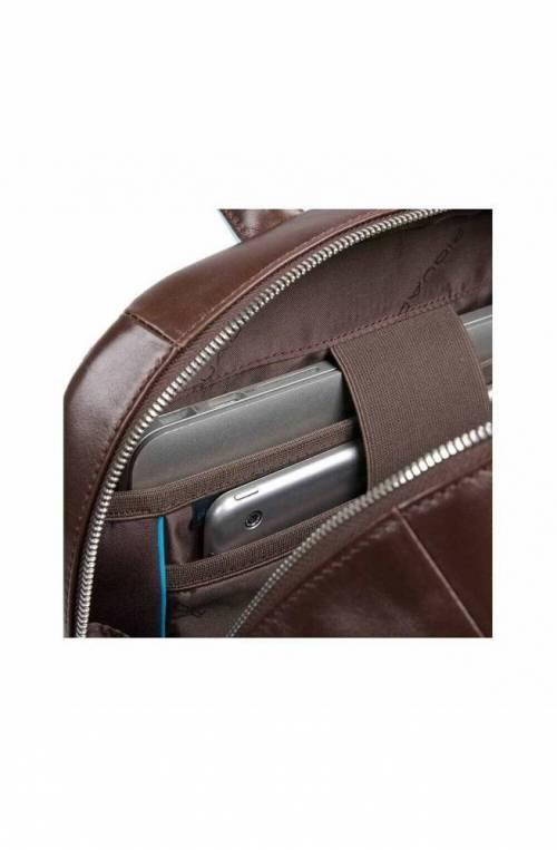 PIQUADRO Backpack Male Leather Brown - CA4762B2-MO
