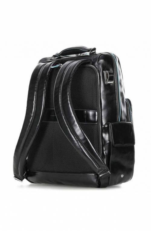 PIQUADRO Backpack Male Leather Black Yes - CA4898B2BM-N