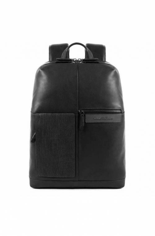 PIQUADRO Backpack Vanguard Male Leather Black - CA4837W96-N