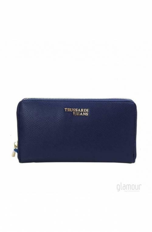 TRUSSARDI JEANS Wallet T-EASY Female Navy blue- 75W001529Y099998U290