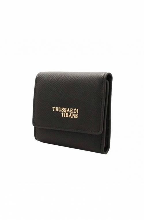Portafoglio TRUSSARDI JEANS T-EASY LIGHT Donna Nero - 75W001499Y099998K299