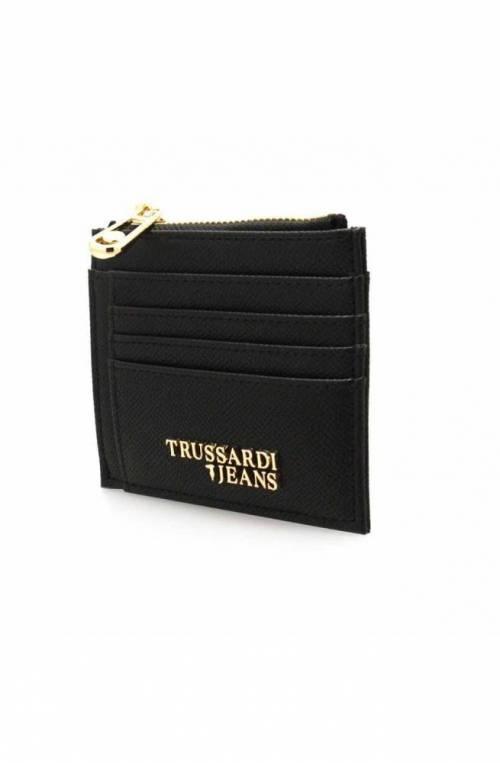 TRUSSARDI JEANS Wallet T-EASY LIGHT Female Black - 75W001579Y099998K299