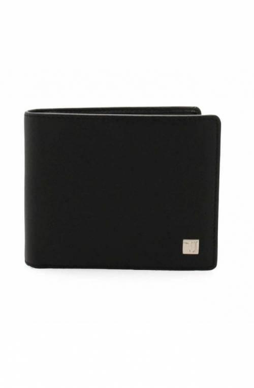 TRUSSARDI JEANS Wallet Male Black-blue - 71W000042P000182K303