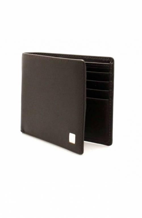 TRUSSARDI JEANS Wallet Male Leather Brown - 71W000052P000180B220