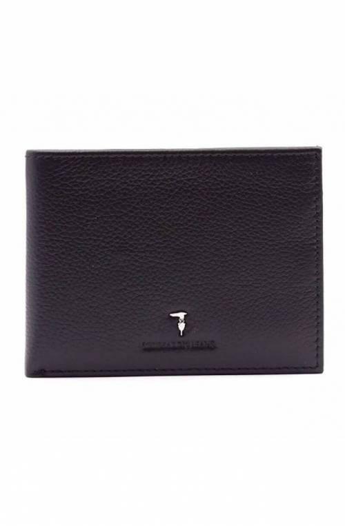 TRUSSARDI JEANS Wallet Male Leather Black - 71W000042P000181K299