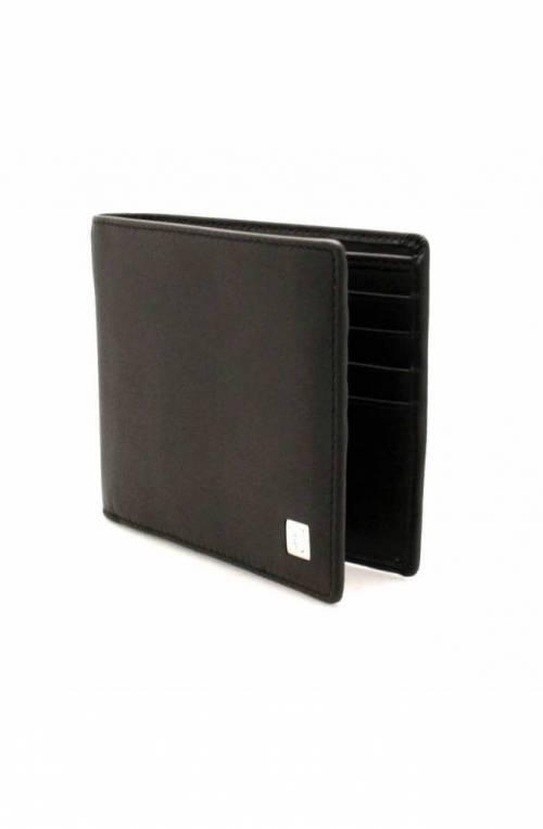 TRUSSARDI JEANS Wallet Male Leather Black - 71W000052P000180K299