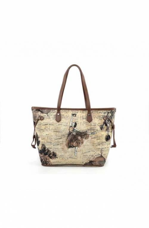 YNOT Bag BALLET Female Multicolor beige - BAL-319F0-BEIGE