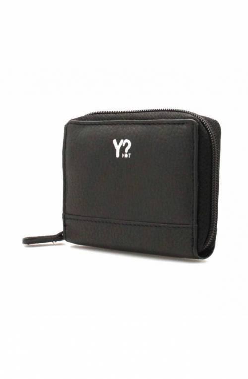 YNOT Credit card case Female Leather Black - WSV-014F0-BLACK