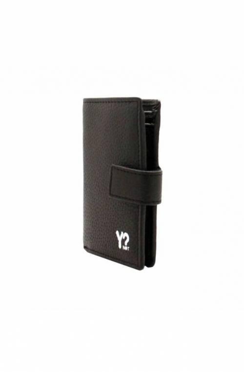 YNOT Wallet Female Leather Black - WSV-015F0-BLACK