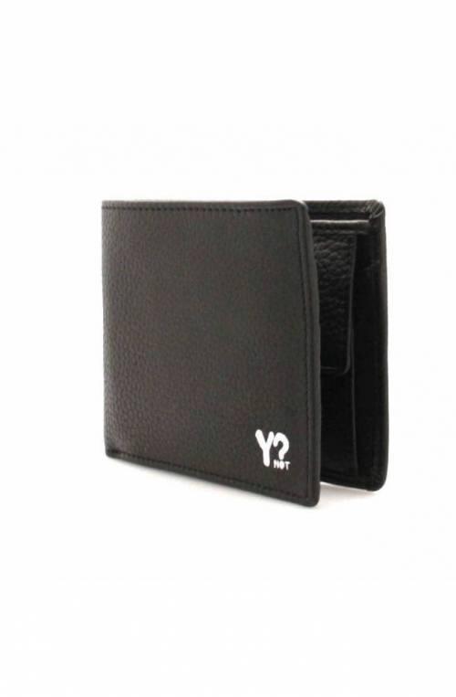 Portafoglio YNOT Uomo Pelle Nero - WSV-002F0-BLACK