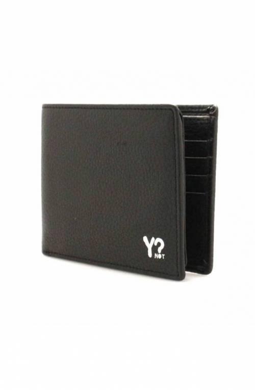 YNOT Wallet Male Leather Black - WSV-003F0-BLACK