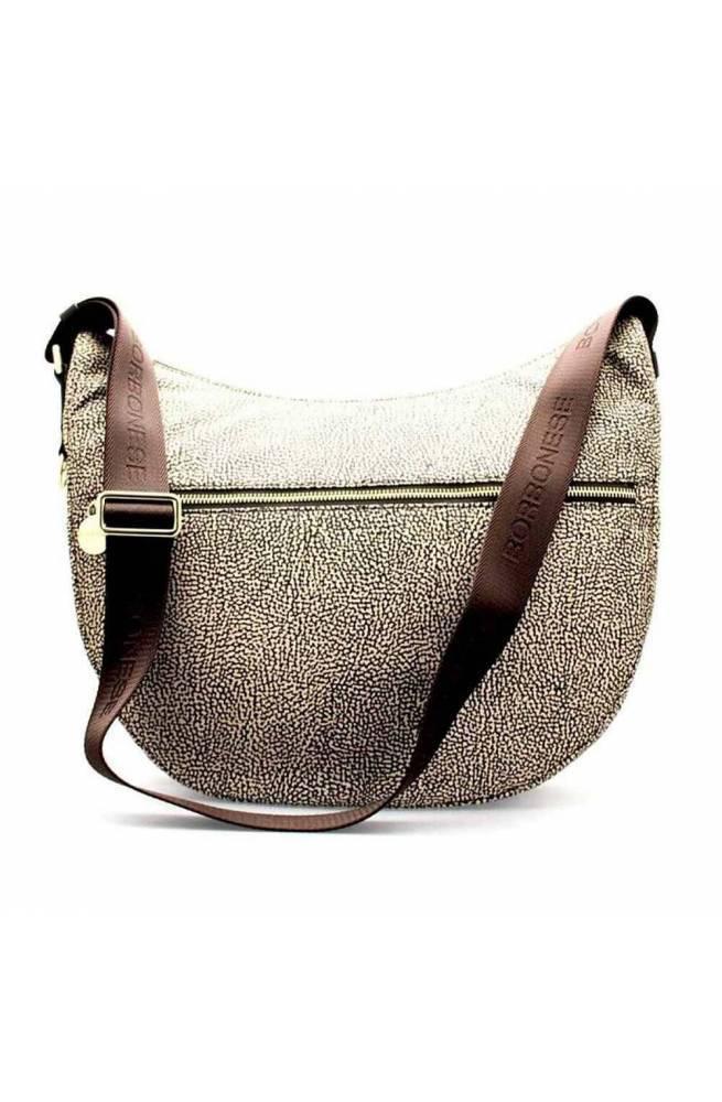 BORBONESE Bag Female Op.Classic Brown - 934415-X96-W45