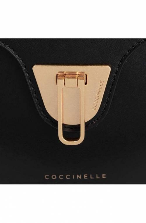 Borsa COCCINELLE BEAT Donna Pelle Nero - E1FF0150101001