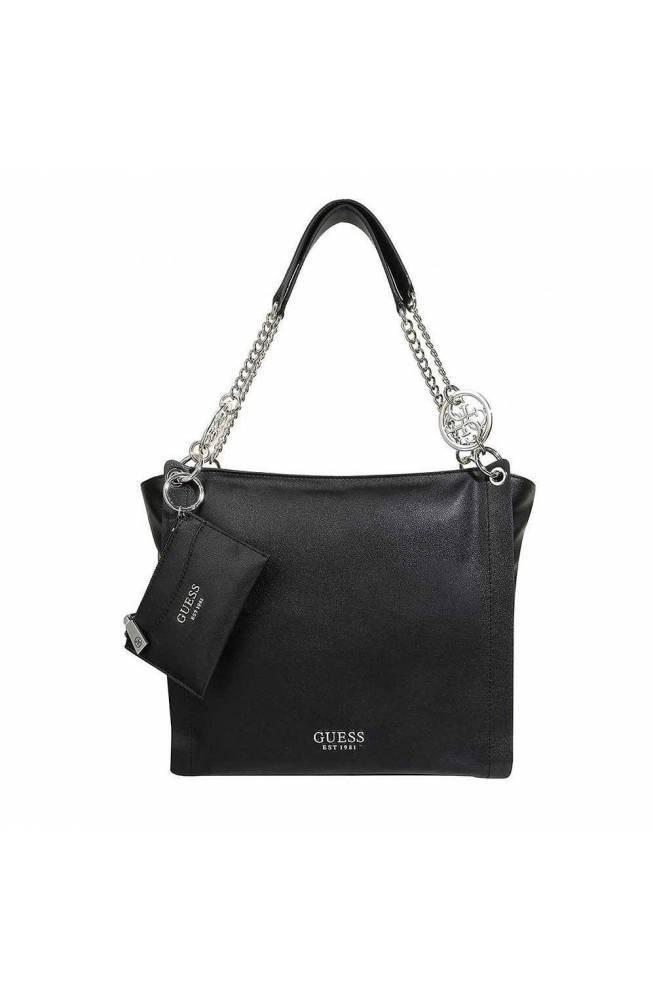 GUESS Bag ALBY Female Black Bordeaux HWOB7455230BBU PoppinsBags