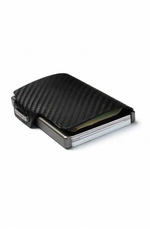 Mondraghi Wallet Racing Carbon Leather Black - MC-00100