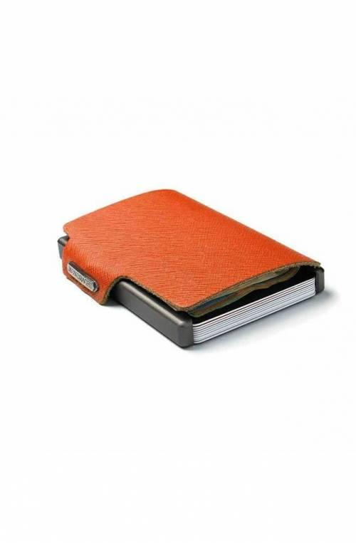 Portafoglio Mondraghi Saffiano Arancione - MC-30300