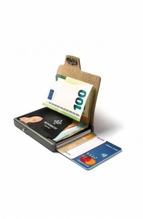 Mondraghi Wallet Saffiano Orange - MC-30300