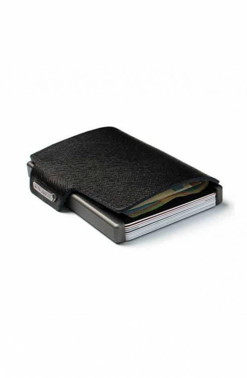 Mondraghi Wallet Saffiano Black - MC-30100
