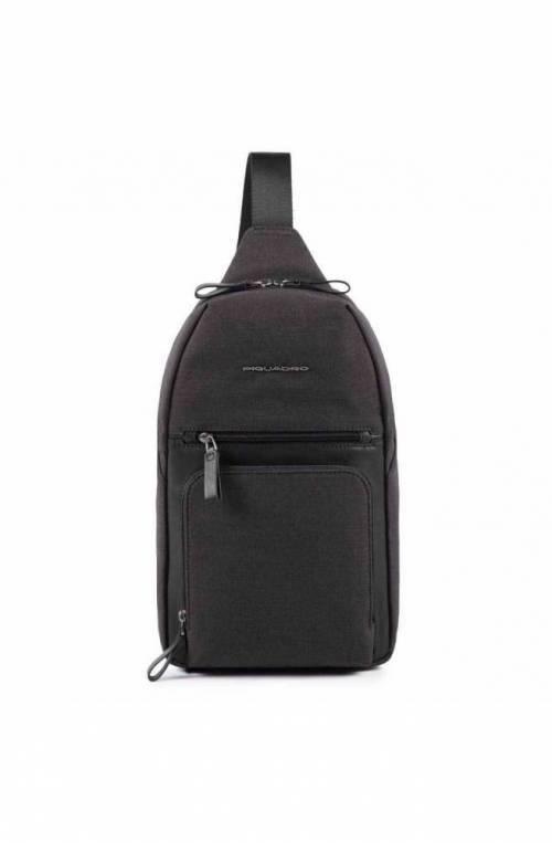 PIQUADRO Bag Tiros Male Mono sling Black - CA4805W98-N