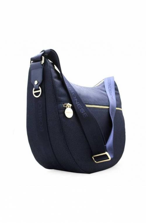 BORBONESE Bag Female Blue - 934415-X96-V55