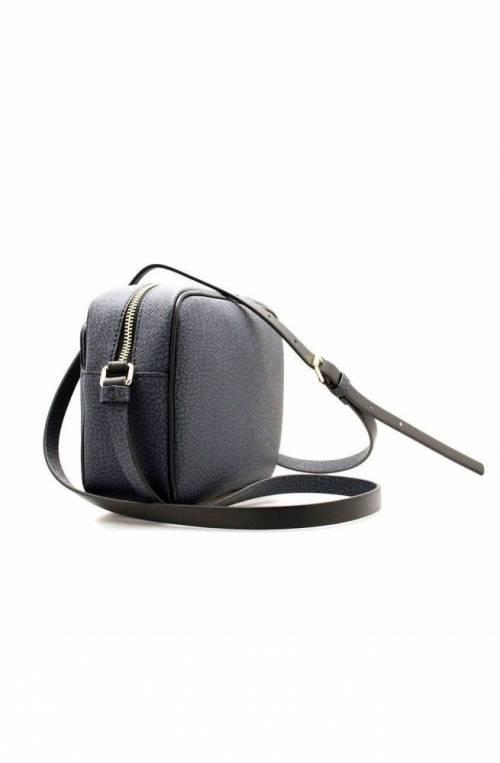 BORBONESE Bag Female Blue/black - 904132-F09-V02