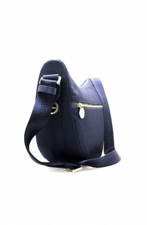 BORBONESE Bag Female LUNA Blue - 934463-X96-V55