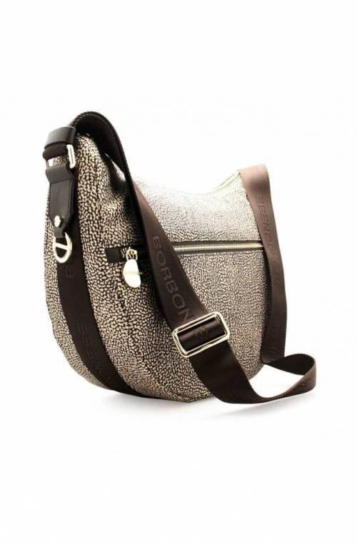 BORBONESE Bag Female LUNA Op.Classic Brown - 934463-X96-W45