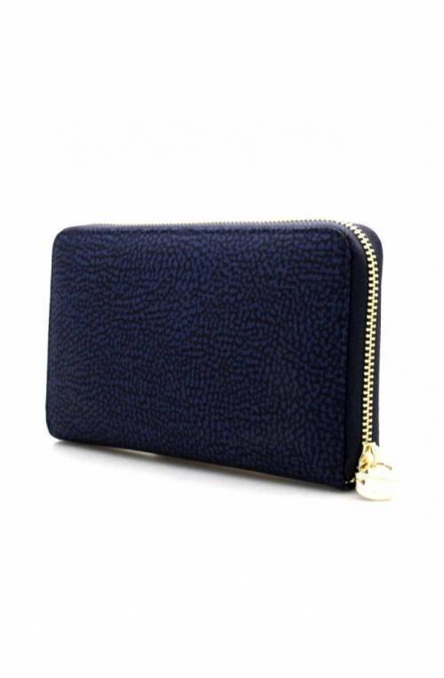 BORBONESE Wallet Female Blue - 930134-X96-V55