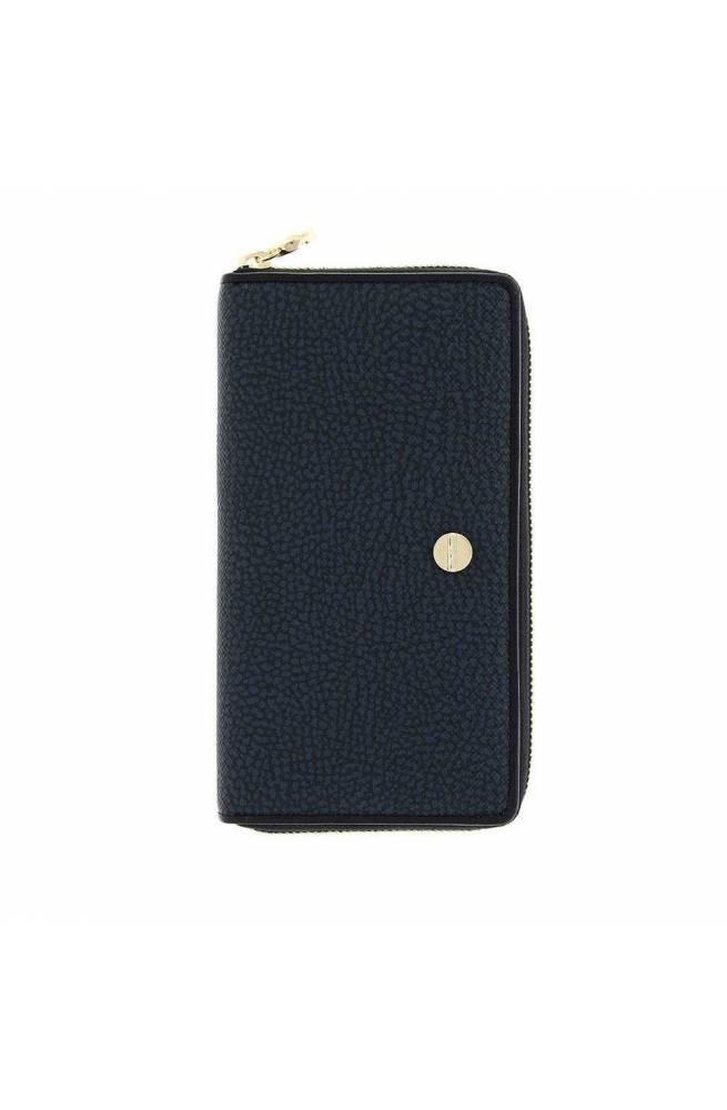BORBONESE Wallet Female Blue-black - 900380-F09-V02
