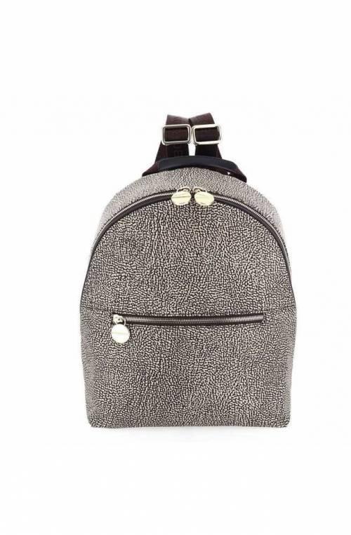 BORBONESE Backpack Female Op.Classic Brown - 934459-X96-W45