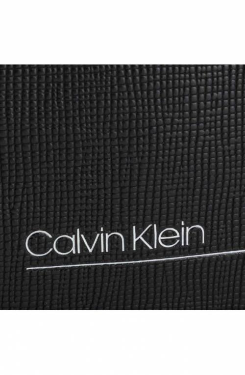 Borsa CALVIN KLEIN SLIVERED FLAT Uomo Nero Porta Tablet - K50K505120BDS