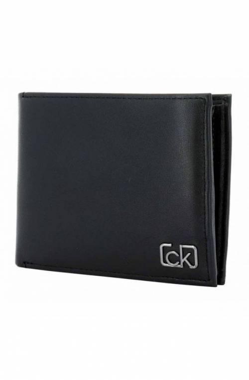 Portafoglio CALVIN KLEIN SIGNATURE COIN Uomo Pelle Nero - K50K505311BDS