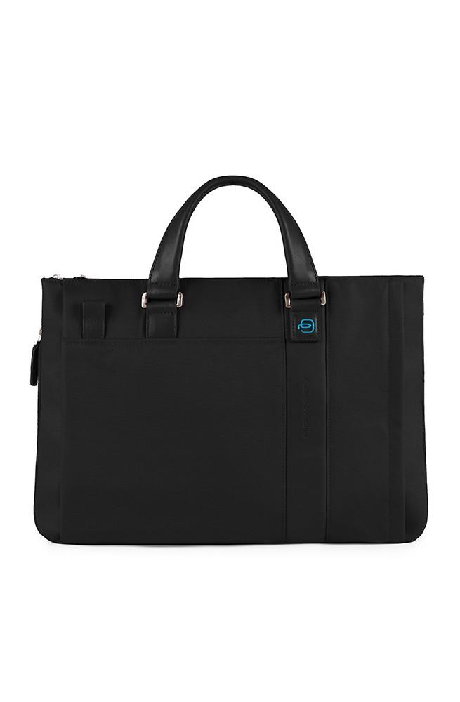 PIQUADRO Bag kyle Computer portofolio brief Black - CA1618S77-N