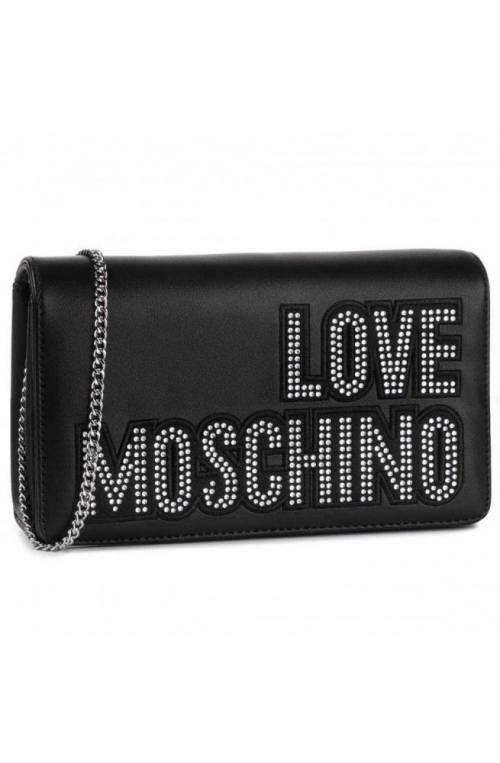 Borsa LOVE MOSCHINO Donna Nero-Argento - JC4091PP1ALO100B