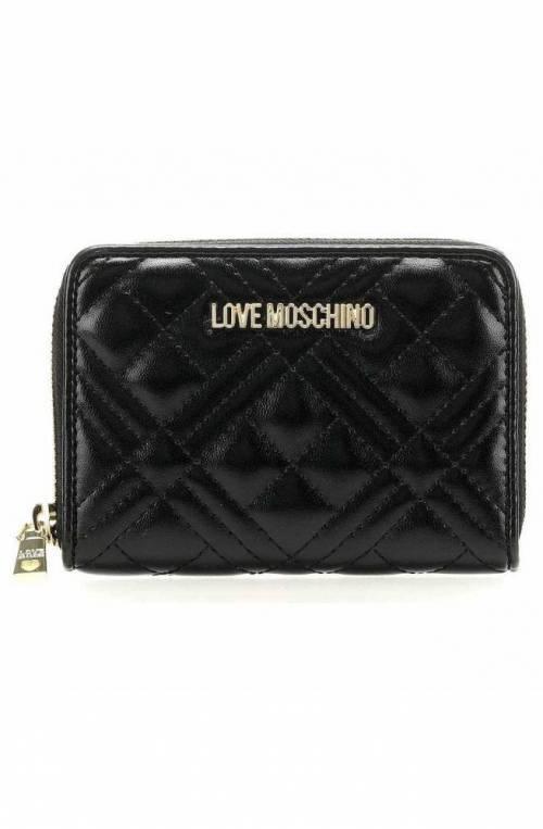 LOVE MOSCHINO Wallet Female Black - JC5602PP1ALA0000