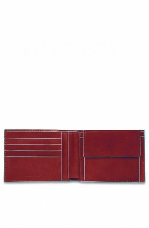 PIQUADRO Wallet Blue Square - PU257B2R-R